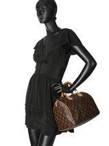 Preloved Louis Vuitton Handbag Speedy 30 Monogram Brand connection Brown louis vuitton 273-vue-porte