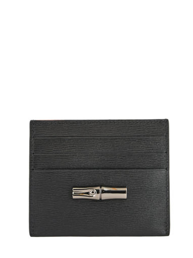 Longchamp Roseau Bill case / card case Black