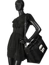 Travel Bag K Ikonik Karl lagerfeld Black k ikonic 86KW3088-vue-porte