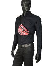 Bumbag Springer Andy Warhol Eastpak Black andy warhol K074AND-vue-porte