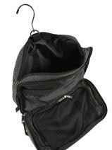 Toiletry Kit Eastpak Black authentic luggage K67D-vue-porte