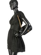 Crossbody Bag Sloan Leather Michael kors Black sloan H8GSLL3T-vue-porte