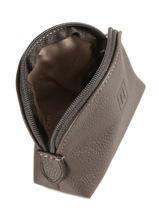 Leather Coin Purse Confort Hexagona Orange confort 460597-vue-porte