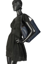 Hobo Bag Crosby Leather Michael kors Blue crosby H8GCBL3L-vue-porte