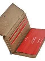 Continental Wallet Madrid Hexagona Brown madrid 537716-vue-porte