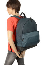 Backpack 1 Compartment Quiksilver Black youth access QYBP3504-vue-porte