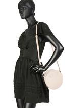Shoulder Bag Vendome Lune Lancaster Beige vendome lune 432-10-vue-porte
