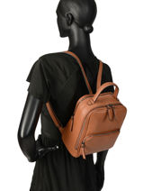 Backpack Balade Etrier Brown balade EBAL08-vue-porte