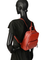 Backpack Balade Etrier Red balade EBAL08-vue-porte