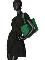 Shoulder Bag Obstacle Etrier Green obstacle EOBS03-vue-porte