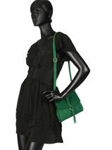 Shoulder Bag Obstacle Etrier Green obstacle EOBS04-vue-porte