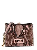 Mini Crossbody Bag Pia Python Lancel Black pia A09993