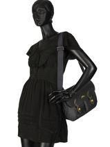 Longchamp Le pliage club Hobo bag Gray-vue-porte