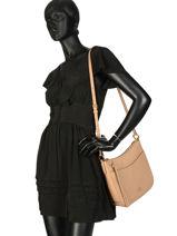 Shoulder Bag Chaise Leather Coach Beige chaise 35543-vue-porte