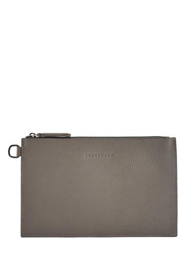 Longchamp Roseau essential Clutches Gray
