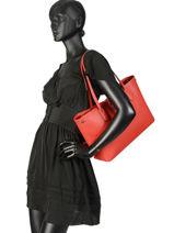 Longchamp Roseau essential Besaces Rouge-vue-porte