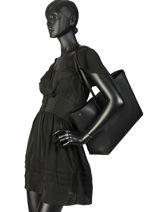 Longchamp Roseau essential Hobo bag Black-vue-porte