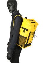 Backpack Rains Yellow boston 1315-vue-porte