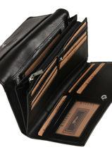 Continental Wallet Leather Katana Black tampon 253050-vue-porte