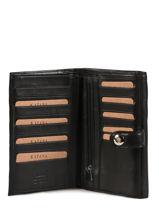 Continental Wallet Leather Katana Black tampon 253115-vue-porte