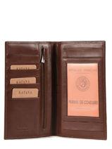 Check Holder Leather Katana Brown tampon 253008-vue-porte