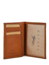 Wallet Leather Katana White tampon 253090-vue-porte