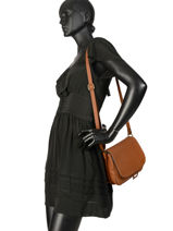 Crossbody Bag Tradition Leather Etrier Brown tradition EHER23-vue-porte