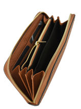 Wallet Leather Etrier Brown tradition EHER91-vue-porte