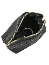 Purse Leather Etrier Black tradition EHER92-vue-porte