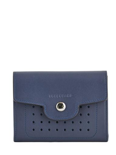 Longchamp Mademoiselle longchamp Portefeuilles Bleu