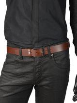Belt Tommy hilfiger Black belt AM04080-vue-porte