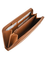 Leather Wallet Original N Nathan baume Brown original n 388N-vue-porte