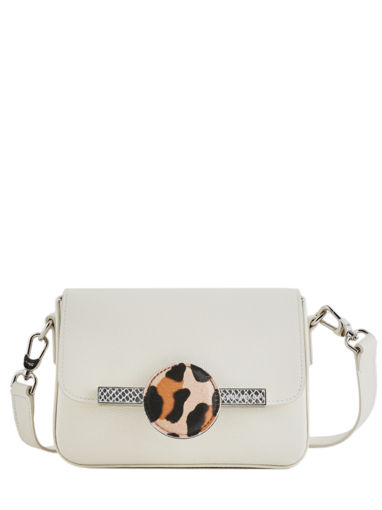 Longchamp Game on Messenger bag Beige
