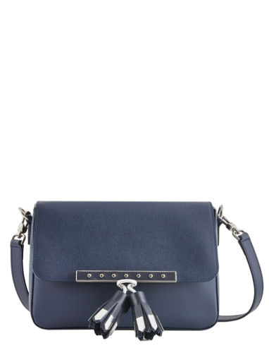 Longchamp Game on Messenger bag Blue