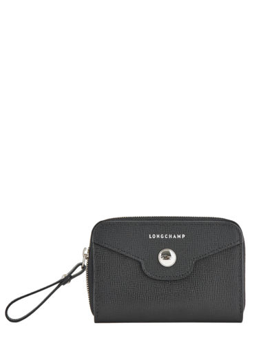 Longchamp Game on Coin purse Black