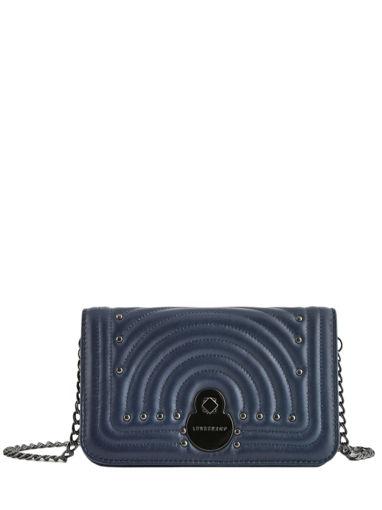 Longchamp Cavalcade matelassÉ Portefeuilles Bleu