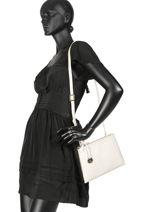 Crossbody Bag  Leather Crinkles White 80886-vue-porte