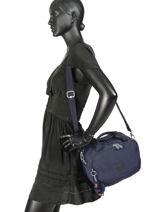 Beauty Case Souple Kipling Bleu basic travel 13860-vue-porte