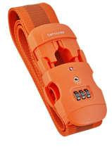 Sangle à Bagage Samsonite Orange accessoires C01057