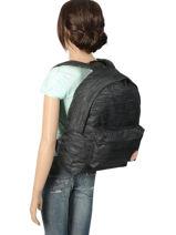 Sac à Dos 1 Compartiment Roxy Noir backpack RJBP3838-vue-porte