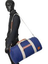 Cabin Duffle Atleta Serge blanco Blue atleta ALT13014-vue-porte