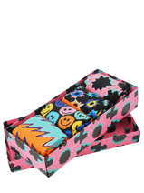 Coffret Cadeau Happy socks Noir pack XFST09