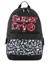 Backpack 1 Compartment Superdry Black backpack woomen G91110MT