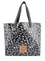Sac Shopping Elaina Print Superdry Noir women bags G91107MT