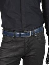 Ceinture Homme Ajustable Extra Petit prix cuir Bleu extra 290-35-vue-porte
