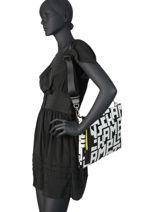 Longchamp Le pliage lgp Clutches Black-vue-porte