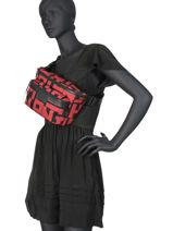 Longchamp Le pliage lgp Pouch bag Black-vue-porte