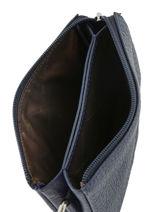 Leather Purse Original N Nathan baume Blue original n 302N-vue-porte