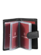 Card Holder Leather Hexagona Orange confort 467254-vue-porte