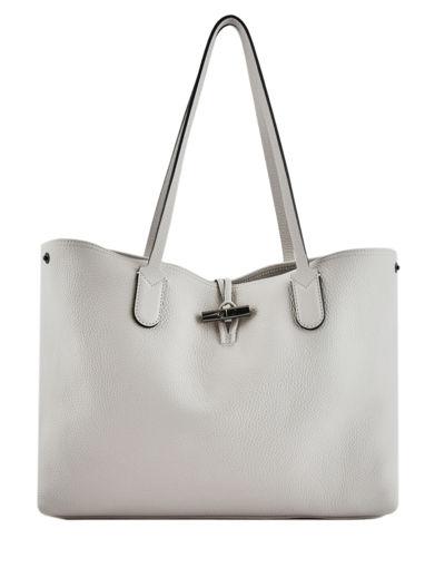 Longchamp Roseau essential Hobo bag Gray